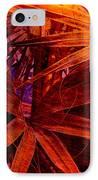 Fiery Palm IPhone Case by Susanne Van Hulst