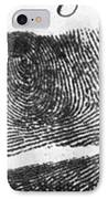 Fingerprints Of Vincenzo Peruggia, Mona IPhone Case by Photo Researchers