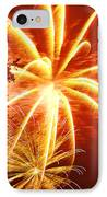 Fire In The Trees IPhone Case by Phill Doherty