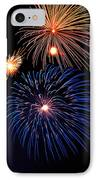 Fireworks Wixom 1 IPhone Case by Michael Peychich