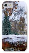 First Colorful Autumn Snow IPhone Case by James BO  Insogna