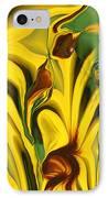Flower Fun IPhone Case by Linda Sannuti