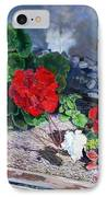 Flowers At Church IPhone Case by Scott Robertson
