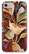 Flowers For Catherine IPhone Case by Sarah Loft