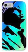 Frank Sinatra In Living Color IPhone Case by Robert Margetts