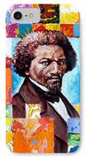 Frederick Douglass IPhone Case by John Lautermilch