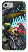 Friends Of A Feather IPhone Case by Karin  Dawn Kelshall- Best
