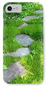Garden Path IPhone Case by Idaho Scenic Images Linda Lantzy