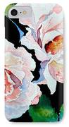 Garden Roses IPhone Case by Hanne Lore Koehler