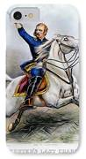 George Armstrong Custer IPhone Case by Granger