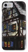 Germany Ulm Fischer Viertel Schwor-haus IPhone Case by Yuriy  Shevchuk