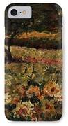 Golden Sunflowers IPhone Case by Nadine Rippelmeyer