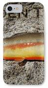 Golden Trout IPhone Case by Kelley King