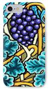 Grapes IPhone Case by Genevieve Esson