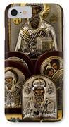 Greek Orthodox Church Icons IPhone Case by David Smith