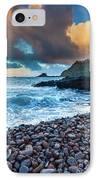 Hana Bay Pebble Beach IPhone Case by Inge Johnsson