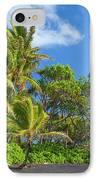 Hana Palm Tree Grove IPhone Case by Inge Johnsson
