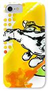 Hands IPhone Case by Jean Pierre Rousselet