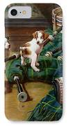 He Who Pays The Piper Calls The Tune IPhone Case by John Hayes