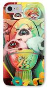 Head Cleaners IPhone Case by Baron Dixon