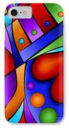 Heart And Soul IPhone Case by Debi Payne