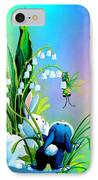 Hello There IPhone Case by Hanne Lore Koehler