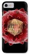 Hepatitis C Virus, Artwork IPhone Case by Mehau Kulyk