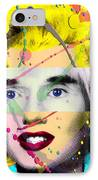 Homage To Warhol IPhone Case by Gary Grayson