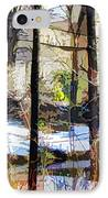 House Surrounded By Trees 2 IPhone Case by Lanjee Chee