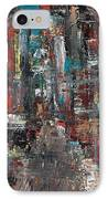 In The City IPhone Case by Frances Marino