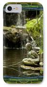 In The Flow IPhone Case by Bell And Todd