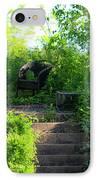 In The Garden IPhone Case by Teresa Mucha