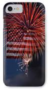Independence Day IPhone Case by Skip Willits