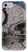 Indianapolis Colts Bottle Cap Mosaic IPhone Case by Paul Van Scott