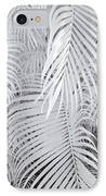 Infrared Palm Abstract IPhone Case by Adam Romanowicz