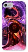 Inner Feelings Abstract IPhone Case by Alexander Butler