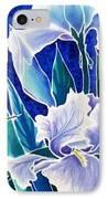 Iris IPhone Case by Francine Dufour Jones
