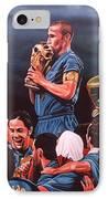Italia The Blues IPhone Case by Paul Meijering