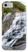 Ithaca Falls IPhone Case by Christina Rollo