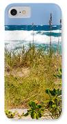 Its A Shore Bet IPhone Case by Michelle Wiarda