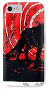 Jezebel And Me IPhone Case by Seth Weaver
