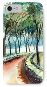 Jogging Track IPhone Case by Anil Nene