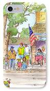 July 4th 2000 IPhone Case by John Norman Stewart