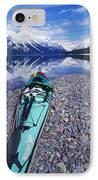 Kayak Ashore IPhone Case by Bill Brennan - Printscapes