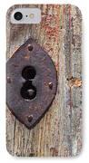 Key Hole IPhone Case by Carlos Caetano