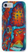 King Angelfish IPhone Case by Daniel Jean-Baptiste