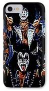 Kiss IPhone Case by Paul Ward
