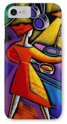 Kitchen  IPhone Case by Leon Zernitsky
