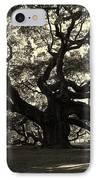 Last Angel Oak 72 IPhone Case by Susanne Van Hulst