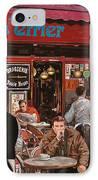 Le Mani In Bocca IPhone Case by Guido Borelli